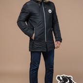 Элитная куртка зимняя Braggart Black Diamond -4602