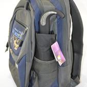 Подростковый школьный компактный зонт полуавтомат Антиветер Flagman для мальчика