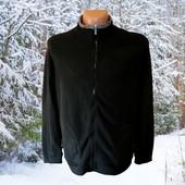Мужская черная флисовая кофта р.ХL Takko Fashion Германия