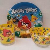 """Детский набор посуды """"Angry Birds"""""""