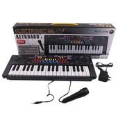 Пианино, Синтезатор с микрофоном 3769 от сети и батареек