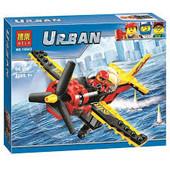 Конструктор Bela 10643 Urban Гоночный самолёт