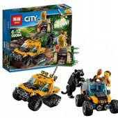Конструктор Lepin 02064 Миссия «Исследование Джунглей» | аналог lego city 60159