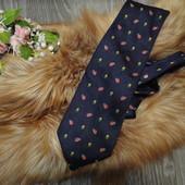 Стильный, яркий галстук, шелк