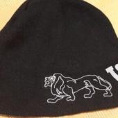 Тёплая двойная шапка Lonsdale