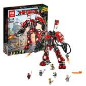 Конструктор Ninjago Movie Lepin 06052 Огненный робот Кая, ниндзя ниндзяго