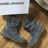 Красивые замшевые ботинки Isabel Marant Louis Vuitton