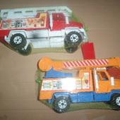 Авто машинки пожарная и автокран