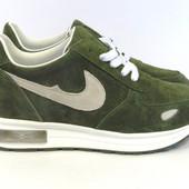 Зеленые кроссовки женские