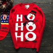 Зимний свитер со снеговиком cedarwood state рр ХЛ и ХХЛ