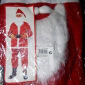 Маскарадный костюм Деда Мороза новый