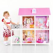 1метр высота! Огромный домик для кукол Bettina 66884