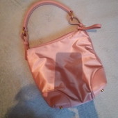 маленькая розовая сумочка косметичка furla
