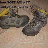 Демісезонні фірмові черевички Queshua р.37