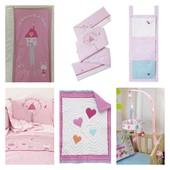 Постельный комплект пеленальный матрас мобиль Mothercare my little world of dream постель в кроватку