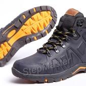 Ботинки кожаные зимние Timberland Nubuck Denim