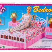 Спальня Мебель кукольная от  Gloria кровать