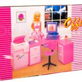 Мебель кукольная офис от Gloria рабочий кабинет