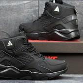 Зимние мужские кроссовки  3613  Nike Huarache