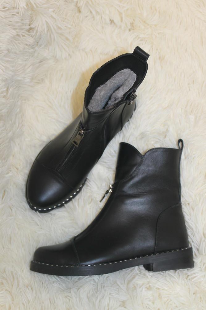 Акция бесплатно  доставка .зима 2019. мега удобные ботинки натуральные материалы ,   36-41р фото №2