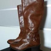 сапоги кожа кожаные 5 th Aveneu 39h 26cm