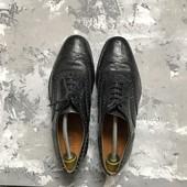 Кожаные туфли броги M&S p-p 42-43