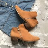Стильные замшевые ботинки River Island рр 39