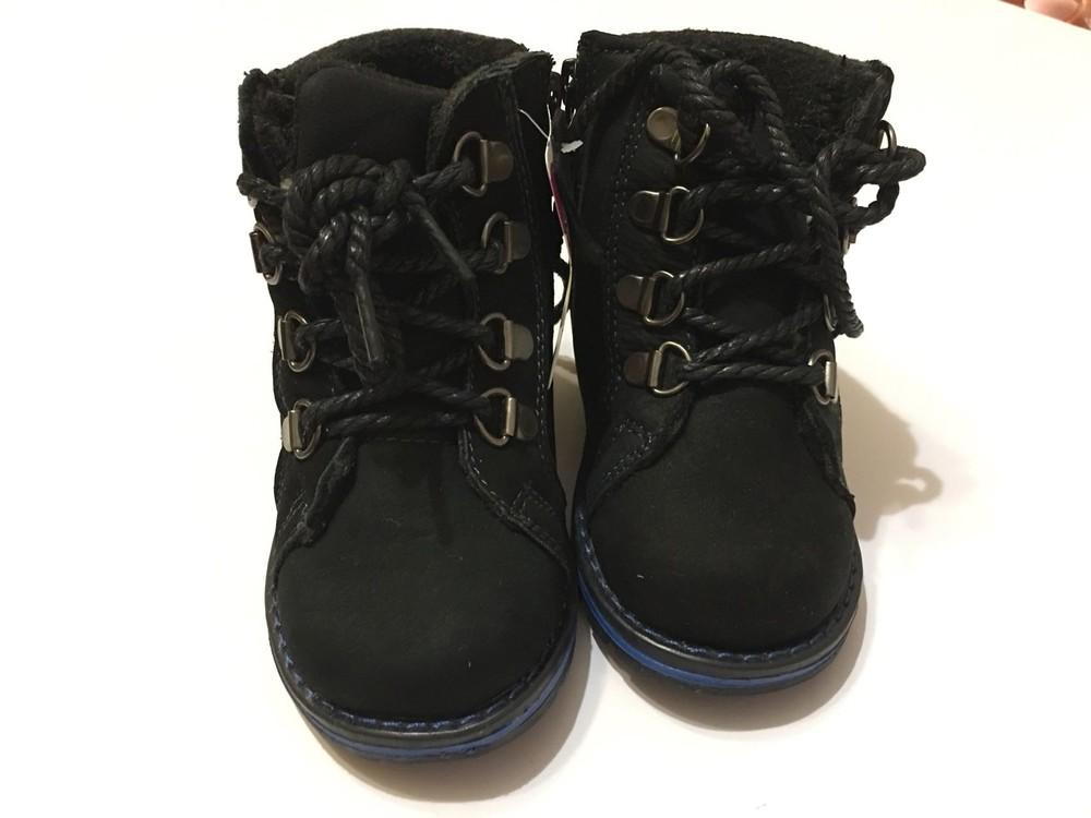 Ботинки зимние натуральный нубук фото №3