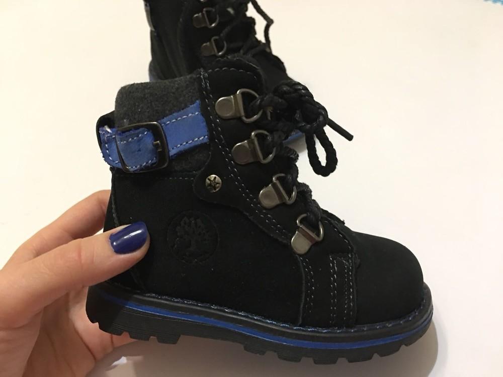 Ботинки зимние натуральный нубук фото №4