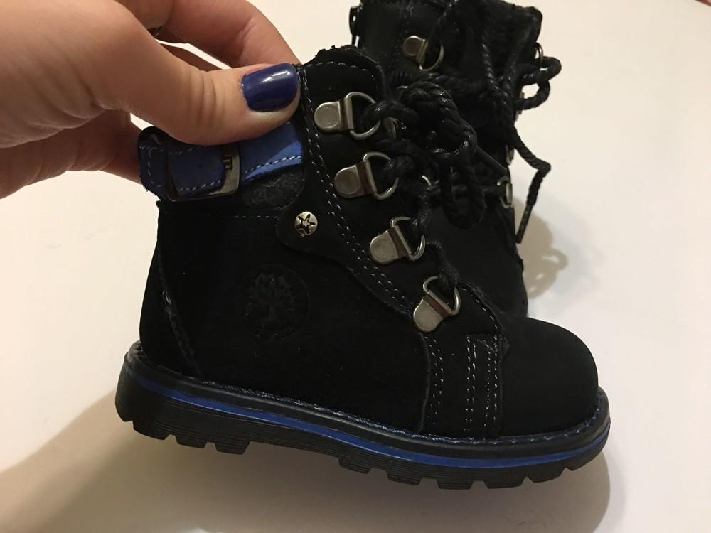 Ботинки зимние натуральный нубук фото №6