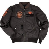 Куртка Alpha Industries бомбер 50th anniversary flight jacket