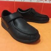 Туфли, п/ботинки д/подростка р. 39  (5,5 G) Clarks, натуральная кожа;