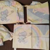 Комплект в кроватку для новорожденных