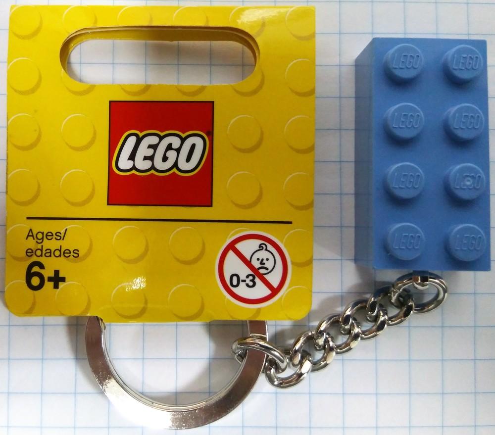 Lego Classic Брелок Голубой кубик 4638318 фото №1