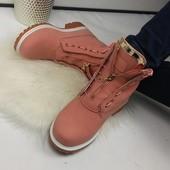 Женские зимние ботинки Balmain. Р.36-41