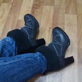 Кожа/замша ботинки Andre Франция