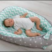 Позиционер кокон гнездо для новорожденного + подушка для беременных и кормления