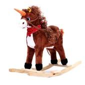 Детская лошадка-качалка (W04)