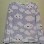 Плюшевая домашняя, пижамная кофта TU размер S