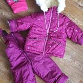 """Зимний костюм""""Снежинка""""На меху!92-98см.Распродажа!"""