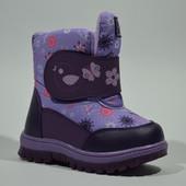 зимние ботинки для девочки размеры 21-26