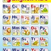 Плакат Англиская азбука 47939