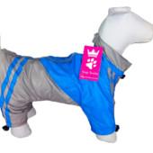 Дождевики утепленные для собак на флисе Dogs Bomba