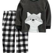 В наличии Теплые пижамы Carters от 2 -12 лет , картерс, пижама, пiжами, флисовая,флис,флисовые