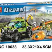 """Конструктор Bela 10638  """"Разведывательный грузовик исследователей вулканов"""", 185 дет."""