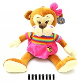 Мягкая игрушка обезьянка в платье , арт.3174, 33 см