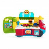 Chicco Фургон-кухня двуязычная обучающая игрушка 2-в-1 07416