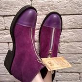 Ботинки из натуральной кожи(замши) !Производитель Украина