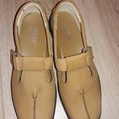 Туфли балетки Hotter р.37,5 см.стелька 24 см.