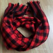 мягенький яскравий шарф